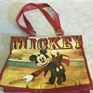 DISNEY PARKS Mickey Mouse Tote Bag Circus Large